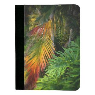 Palmen-Glühen Padfolio