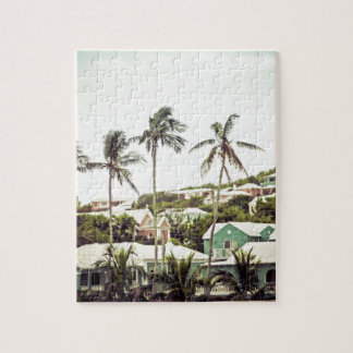 Palmen in Bermuda Puzzle