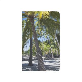 Palmen, nationaler historischer Park Pu'uhonua O Taschennotizbuch