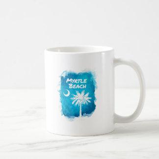 Palmetto-Farben-Spritzer Kaffeetasse