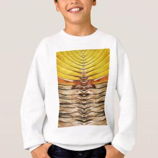 Palmwedel-Blatt-Makro Sweatshirt