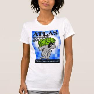 Palo Alto-Brauen: Atlas-T-Stück - Frauen T-Shirt
