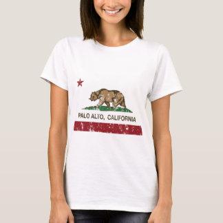 Palo Alto Kalifornien Staatsflagge T-Shirt