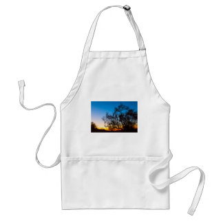 Palo Verde Baum-Silhouette-Sonnenaufgang Schürze