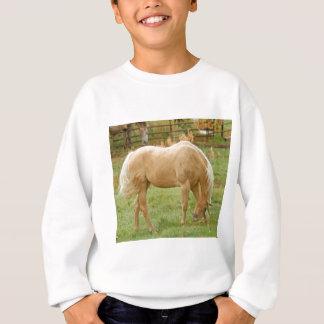 Palomino-Pferd Sweatshirt