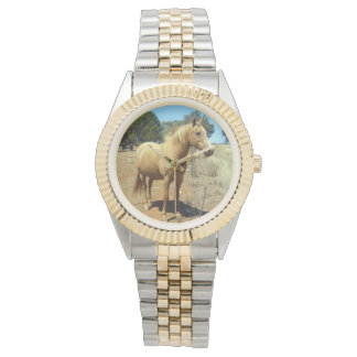 Palomino-Pferdeschönheit, Armbanduhr