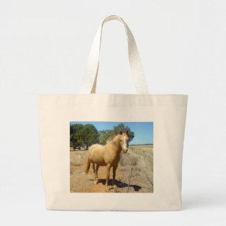Palomino-Pferdeschönheit, Jumbo Stoffbeutel