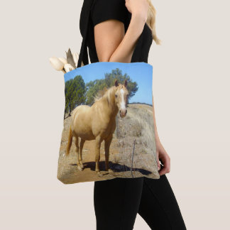 Palomino-Pferdeschönheits-Aufpassen, Tasche