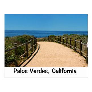Palos Verdes Ozean-Spur Postkarte