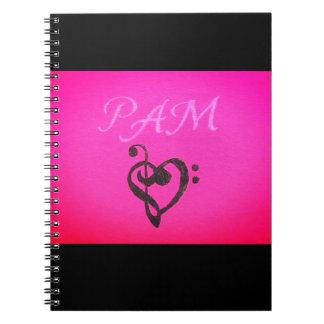 PAM-Notizbuch Notizblock