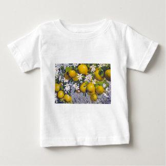 Pampelmuse u. Blüten in Florida Baby T-shirt