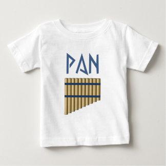 Pan Flöte flute Baby T-shirt