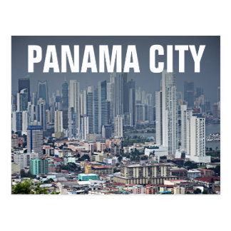 Panama-Stadt Skyline Postkarten