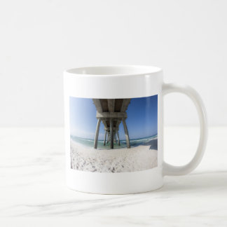 Panama-Stadt Strand-Pier Kaffeetasse