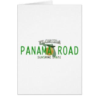 Panama-Straße Sempre Betrug te Karte