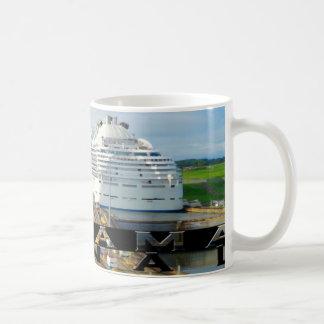 Panamakanal-Andenken Kaffeetasse
