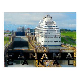 Panamakanal-Andenken Postkarte