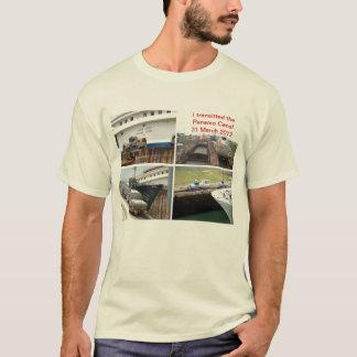 Panamakanal-Durchfahrt T-Shirt