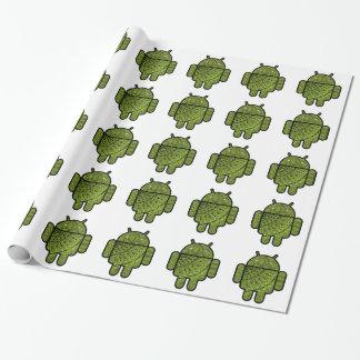 Pancho Gekritzel-Charakter für den Android™ Geschenkpapierrolle