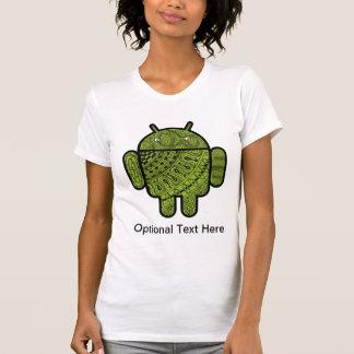 Pancho Gekritzel-Charakter für den Android™ T-Shirt