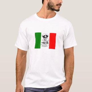 Pancho Landhaus-mexikanische Flaggen-T - Shirt