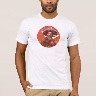 Pancho Landhaus-Vintager roter Stern T-Shirt