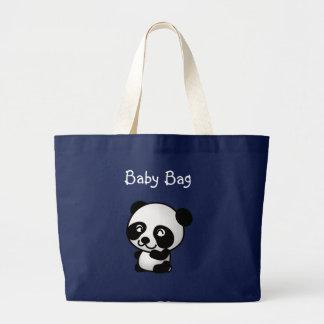 Panda-Baby-Tasche Jumbo Stoffbeutel