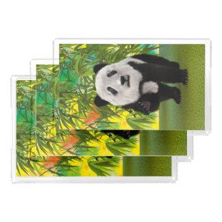 Panda-Bär Acryl Tablett
