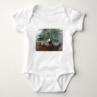 Panda-Bär Baby Strampler