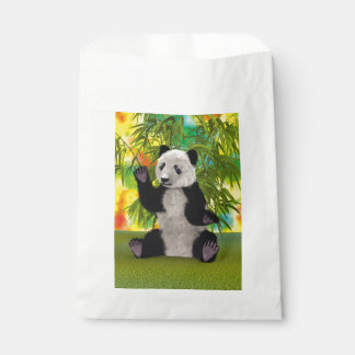 Panda-Bär Geschenktütchen