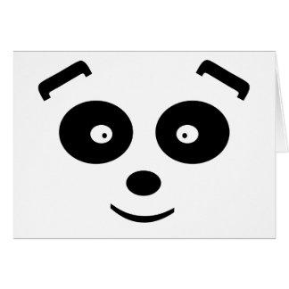 Panda-Bär Karte