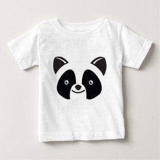 Panda-Bär Kawaii stellen gegenüber Baby T-shirt