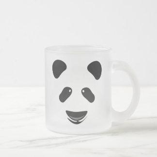 Panda-Bär modern Mattglastasse