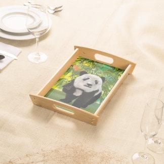 Panda-Bär Serviertablett