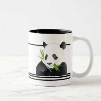 Panda-Bär Zweifarbige Tasse