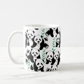 Panda-Bären grafisch Kaffeetasse