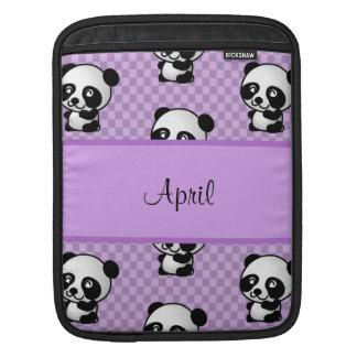 Panda-Bären iPad Sleeve