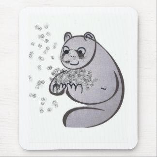Panda-Bären Mousepad