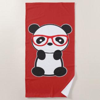 Panda-Bärn-Badetuch - Leon der Panda-Bär Strandtuch