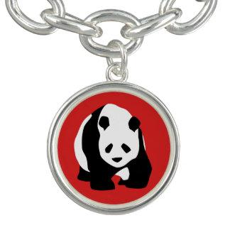 Panda-Bärn-Charme Armband