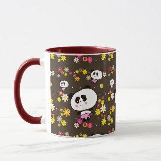 Panda-Bärn-Geschenke für Mädchen addieren Namen, Tasse
