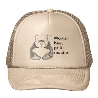Panda-Bärn-Kochs-Bild Mützen