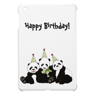 Panda-Bärn-Party durch Kindred-Entwurf iPad Mini Hüllen