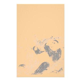 Panda-Bleistift Briefpapier