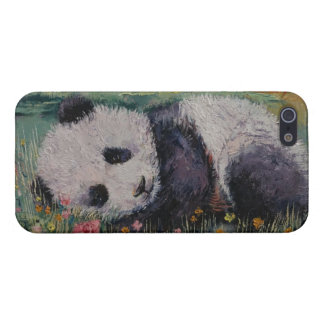 Panda-Blumen iPhone 5 Schutzhüllen