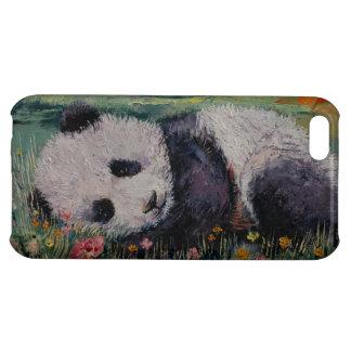 Panda-Blumen iPhone 5C Schale