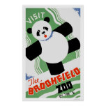 Panda Brookfield Zoo WPA 1938 Posterdrucke