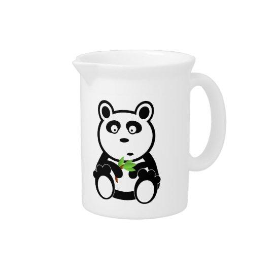 Panda-Cartoon Getränke Pitcher