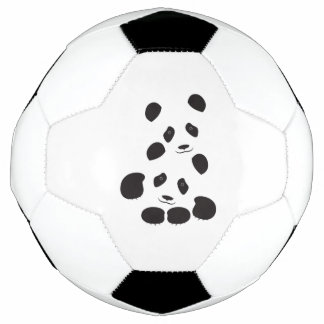 Panda-Freundschaft Fußball