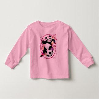 Panda-Fußball-Shirts Tshirts